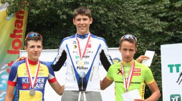 Sieg für Patrick Gamper bei der ÖM Zeitfahren