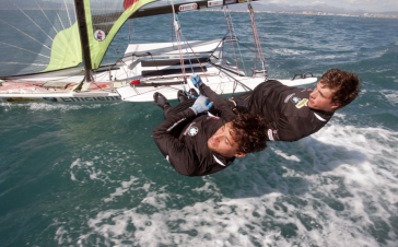 Bildstein/Hussl segeln bei Junioren WM auf Rang 3