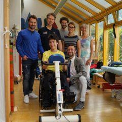 Spitzenleistung: Spitzensportler sichern Spitzenunterstützung im Elisabethinum
