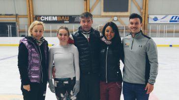 Training mit russischem Olympiasieger