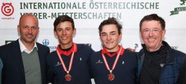 Max Steinlechner holt sich zwei Meistertitel