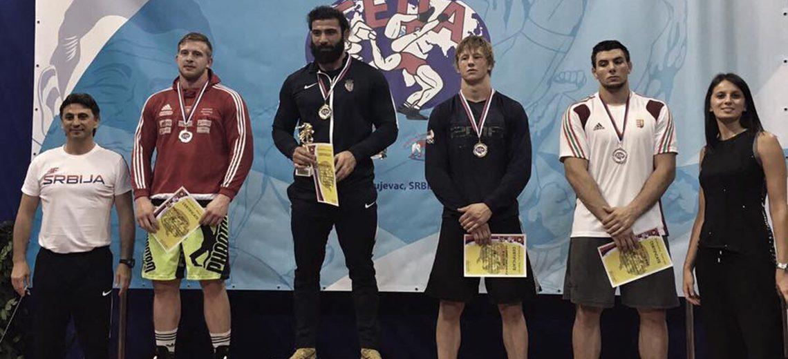 Silber für Gastl beim Weltcup in Belgrad