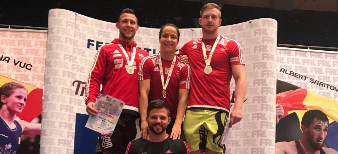 3 Weltcup-Medaillen in Bukarest