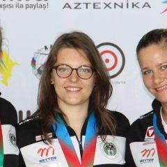 ÖSB-Frauen gewinnen Team-Bronze im KK-Liegend