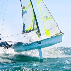 Bildstein/Hussl segeln zu WM-Bronze