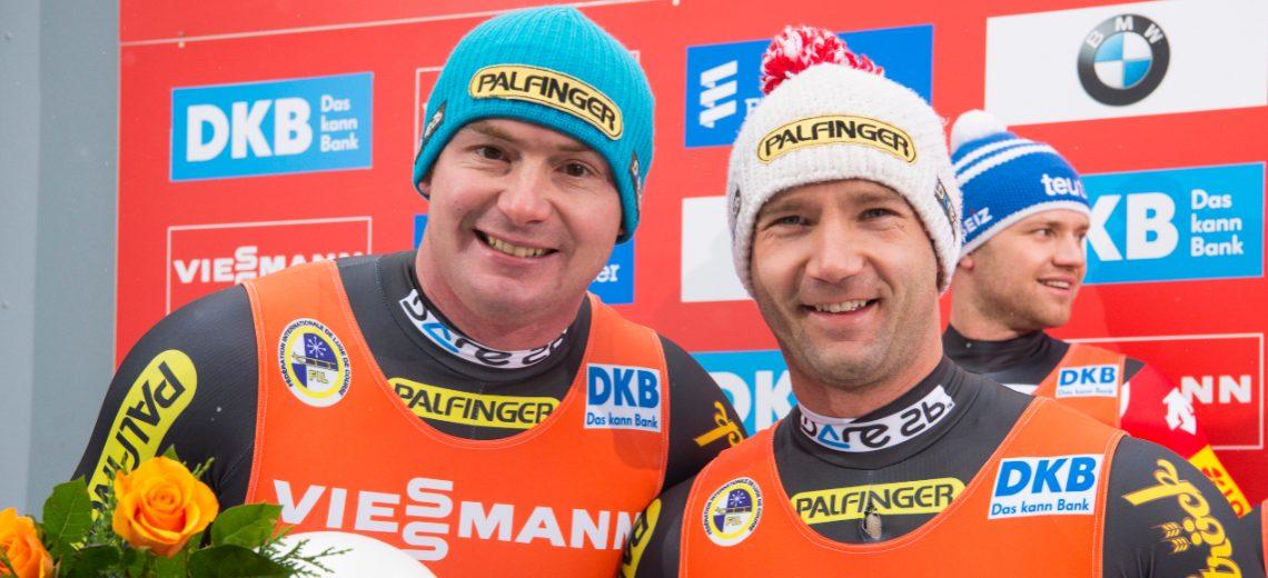 ÖRV-Doppelsitzer holen Weltcup-Silber