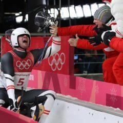 Tiroler Rodel-Doppel Penz/Fischler rast zu Olympia-Silber