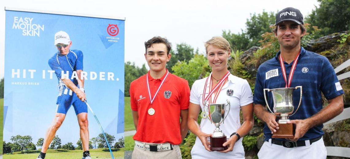Erfolge für unsere Golfer Wolf und Steinlechner