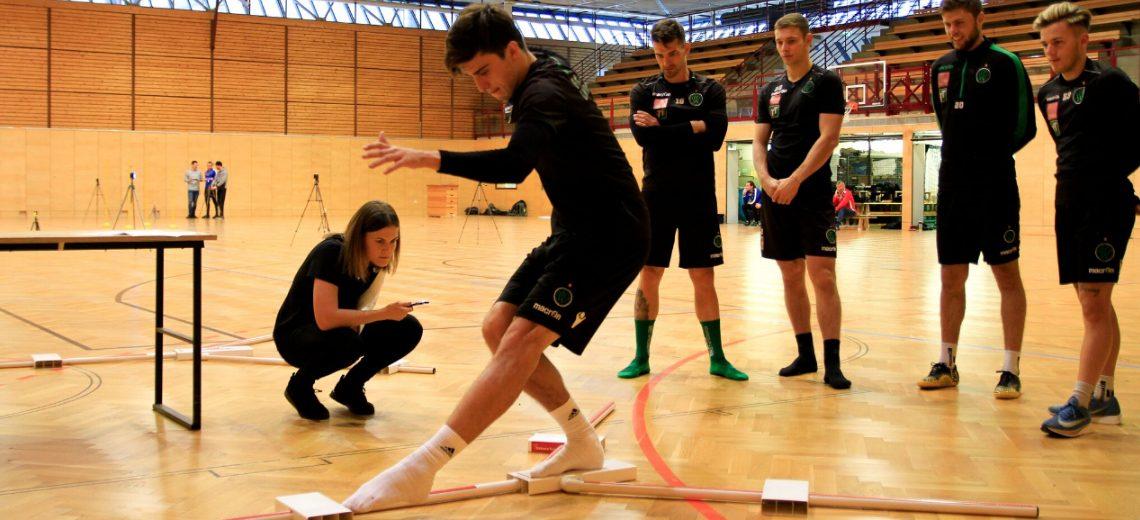 Testungen mit dem FC Wacker Innsbruck