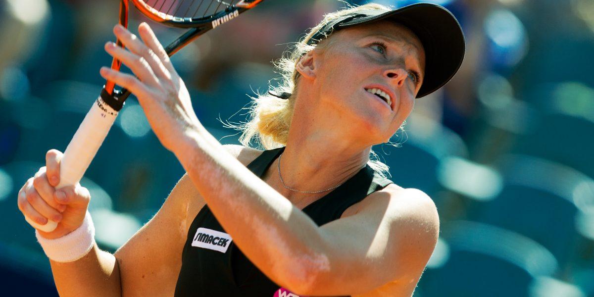 BAD GASTEIN,AUSTRIA,22.JUL.15 - TENNIS - WTA Tour, Nuernberger Gastein Ladies. Image shows Patricia Mayr-Achleitner (AUT). Photo: GEPA pictures/ Matthias Hauer
