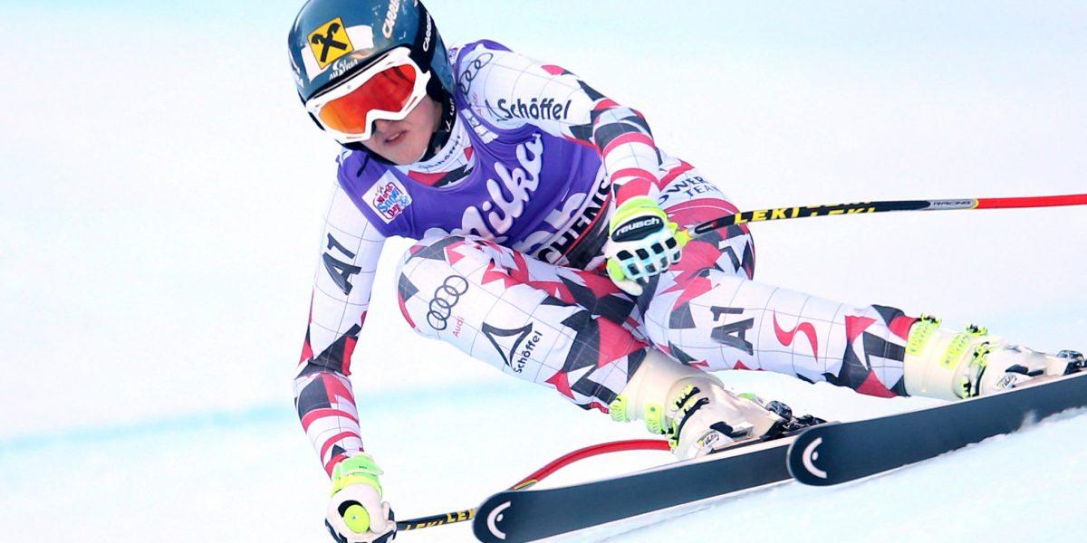 ALTENMARKT,AUSTRIA,07.JAN.16 -  ALPINE SKIING - FIS World Cup, Zauchensee, downhill training, ladies. Image shows Nina Ortlieb (AUT). Photo: GEPA pictures/ Andreas Pranter