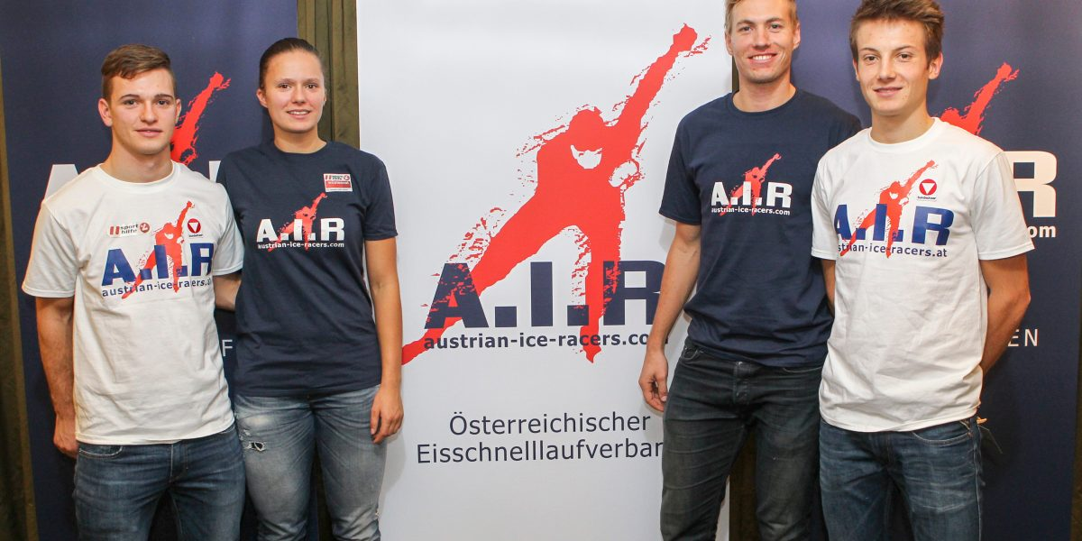 SPEED SKATING - Austrian Ice Racers, press conference