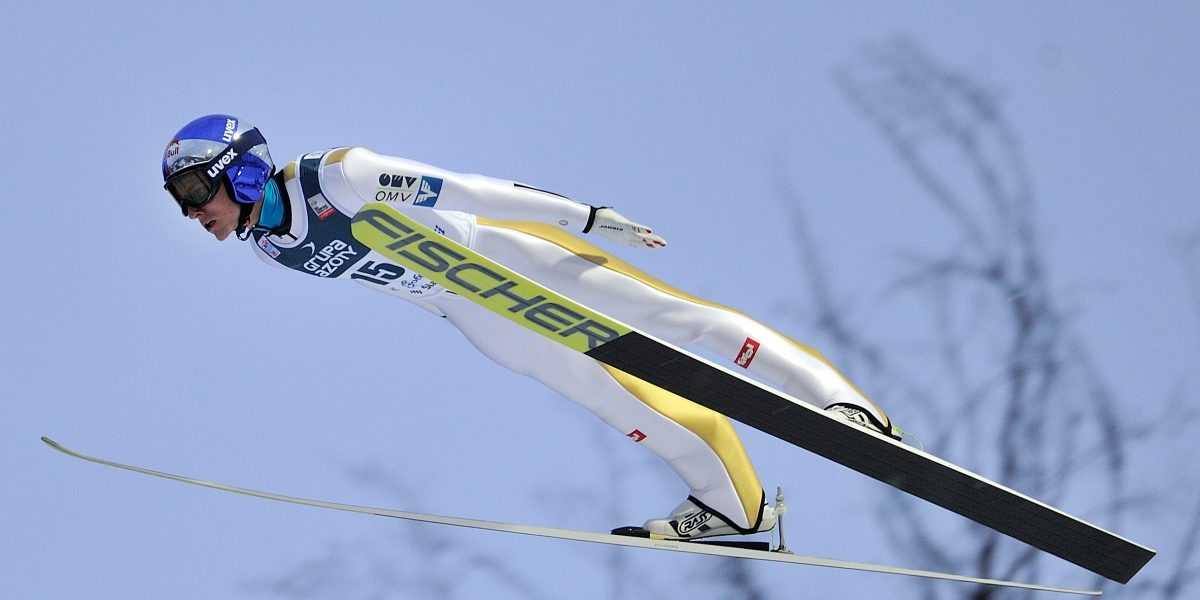 WISLA,POLAND,15.JAN.17 - NORDIC SKIING, SKI JUMPING - FIS World Cup, large hill, men. Image shows Gregor Schlierenzauer (AUT). Photo: GEPA pictures/ Wrofoto/ Piotr Hawalej - ATTENTION - NO USAGE RIGHTS FOR POLISH CLIENTS.