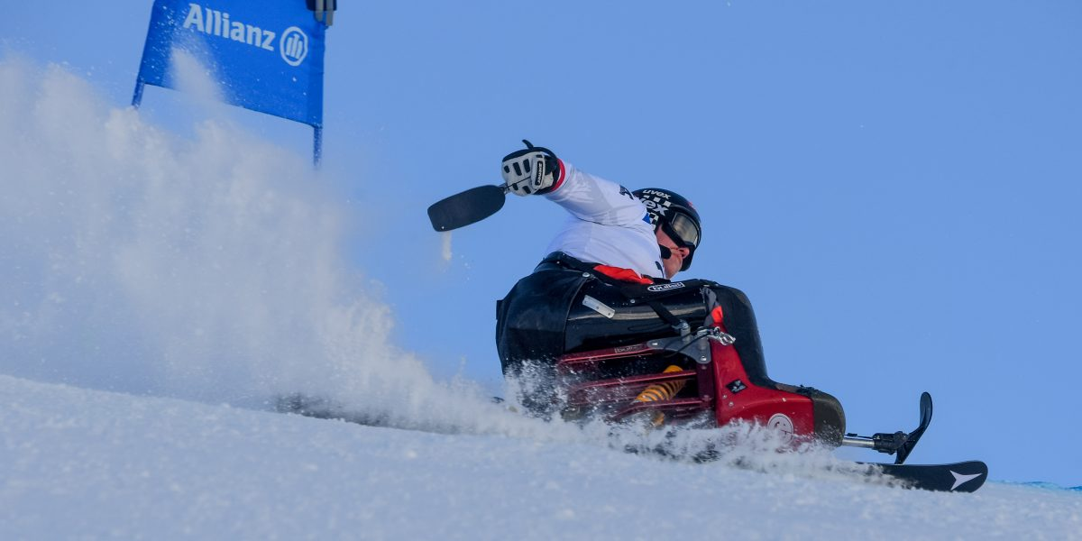 KUEHTAI,AUSTRIA,19.DEC.17 - DISABLED SPORTS, ALPINE SKIING - World Cup, giant slalom. Image shows Claudia Loesch (AUT). Photo: GEPA pictures/ Oliver Lerch