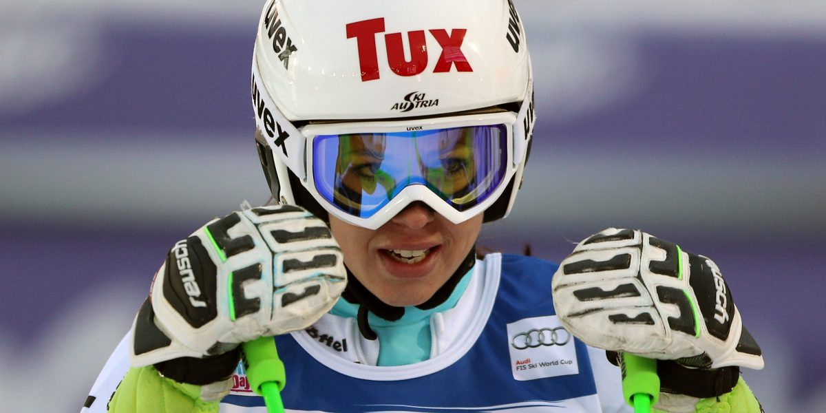 AARE,SWEDEN,12.DEC.15 - ALPINE SKIING - FIS World Cup, giant slalom, ladies. Image shows Stephanie Brunner (AUT). Photo: GEPA pictures/ Thomas Bachun