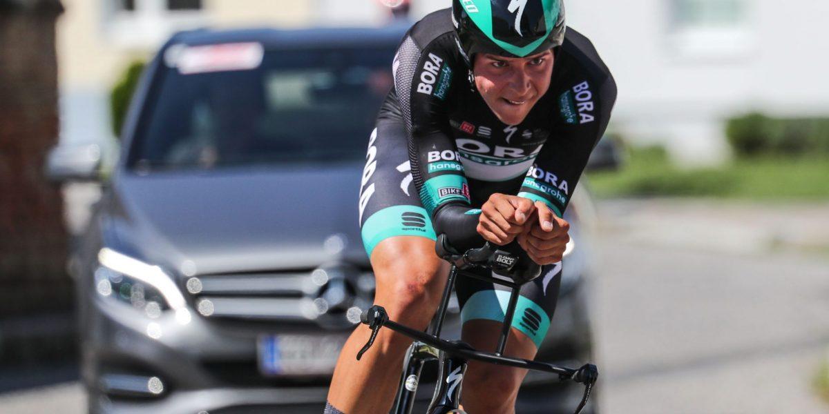 LUTZMANNSBURG,AUSTRIA,22.AUG.20 - CYCLING - Austrian Time Trial Series, Austrian Championships. Image shows Patrick Gamper (AUT) Photo: GEPA pictures/ Michael Meindl