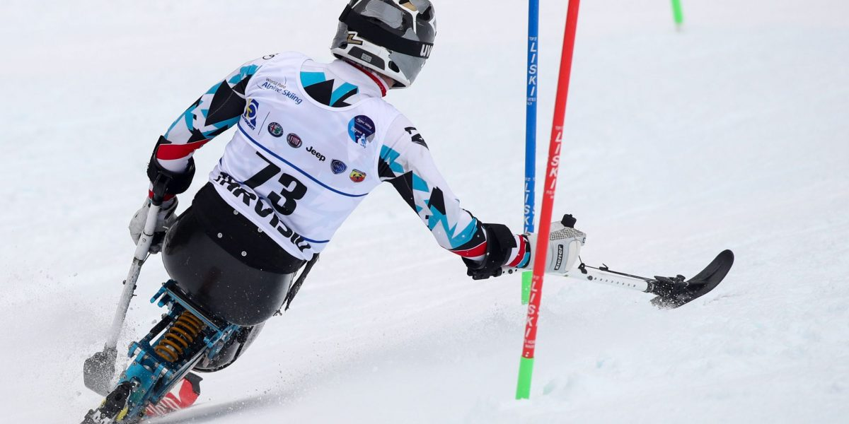 TARVISIO,ITALY,31.JAN.17 - DISABLED SPORTS, ALPINE SKIING - World Para Alpine Skiing Championships, slalom, sitting men. Image shows Roman Rabl (AUT). Photo: GEPA pictures/ Matic Klansek